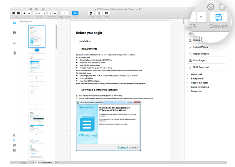 how to convert pdf to pages jerry s guide